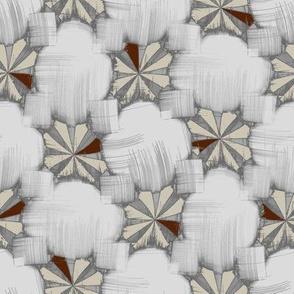Fractalese Garden (Bone)