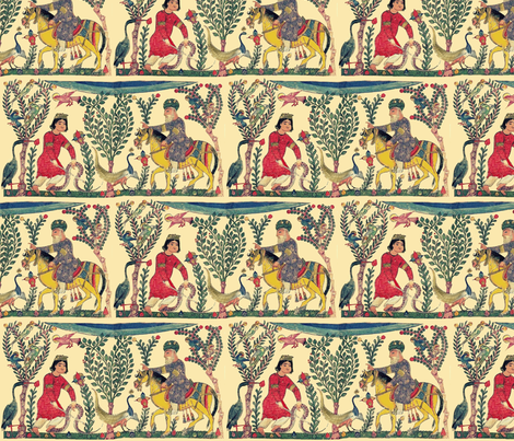 mosul fabric by lbehrendtdesigns on Spoonflower - custom fabric