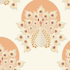 Peacock pattern 003