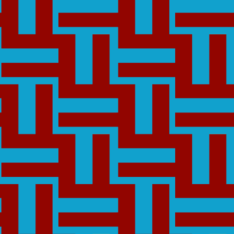 Beach Maze 2 fabric by anniedeb on Spoonflower - custom fabric
