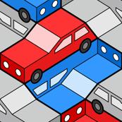car 2g 3 : traffic-jam pile-up