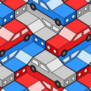 06119973 : car 2g 3 : traffic-jam pile-up