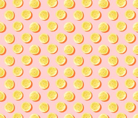 Lemon Pattern fabric by she's_that_wallflower on Spoonflower - custom fabric