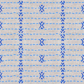 FRENCH_LINEN_TRIBAL_STRIPE_BLUE