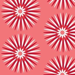 red spiky pop