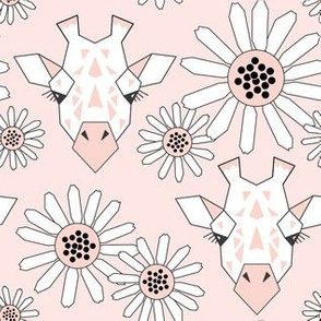 large giraffe-and-daisies-on-soft-pink