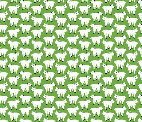 Mountain Goat fabric by klingercreative on Spoonflower - custom fabric