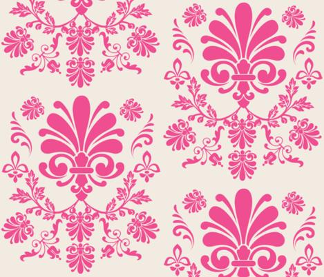 Essence 10- CreamBerry fabric by drapestudio on Spoonflower - custom fabric