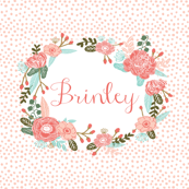 brinley custom name wholecloth