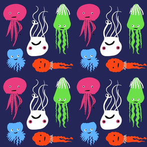 Octopus & Squid