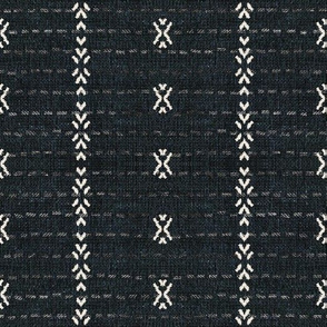 FRENCH_LINEN_TRIBAL_STRIPE_EBONY
