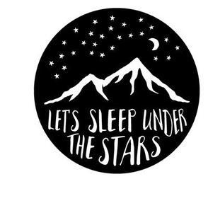 9 inch quilt blocks - Let's sleep under the stars