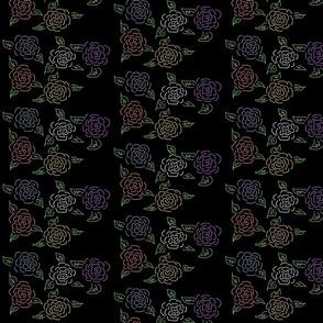 Chalk-Board Roses
