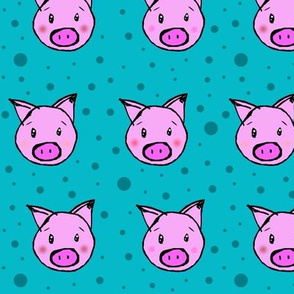Pigs And Polka Dots