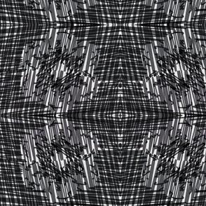 Black Scratch Mandala_ small vertical