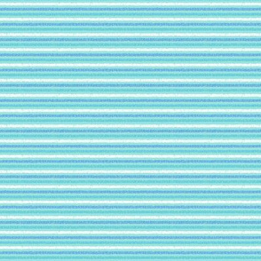 Blue-Aqua Tiny-Stripes