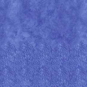 Blue Damask & Ragwash Sleeves