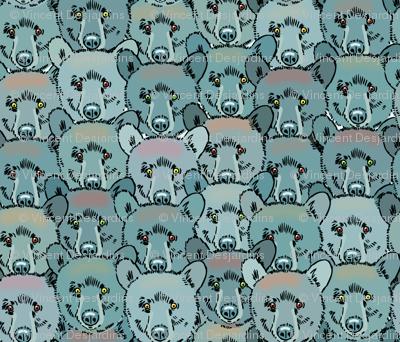 Bear Head Overlap