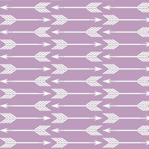 arrows on mauve