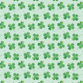 "3/4"" small scale- shamrock toss 