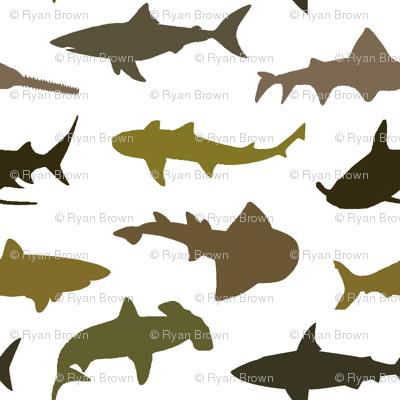 Earth-Tone Sharks // Small