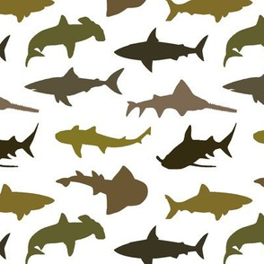 Earth-Tone Sharks // Small