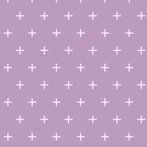 mauve cross