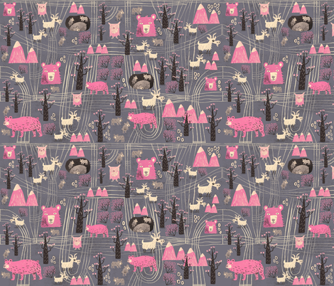 The high life fabric by skbird on Spoonflower - custom fabric