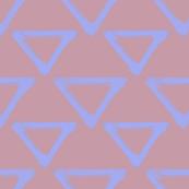 Triangular Repeat - Periwinkle & Mauve