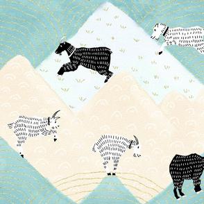 Swiss-Alps-Mountain-Goats