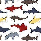 Sharks // Nautical Colors
