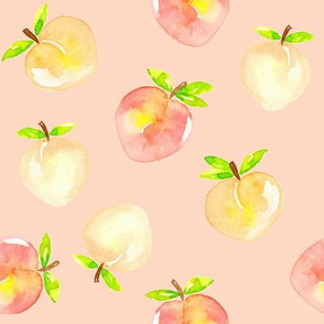 Peaches_watercolour_on_blush