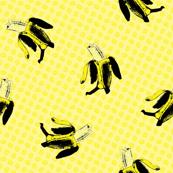 Bananas on dots