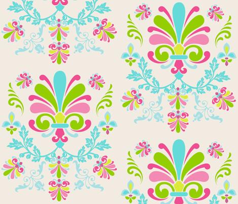 Essence 10- Spring Cream fabric by drapestudio on Spoonflower - custom fabric