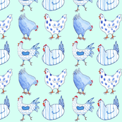 Chicken Blue