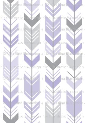 herringbone arrows light purple