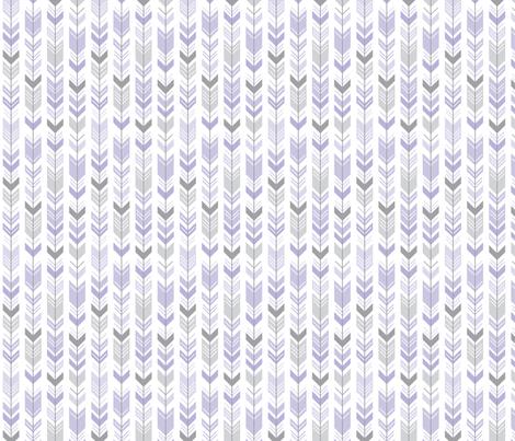herringbone arrows light purple fabric by misstiina on Spoonflower - custom fabric