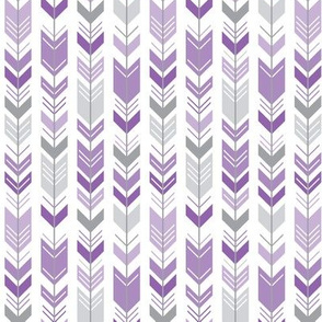 herringbone arrows amethyst