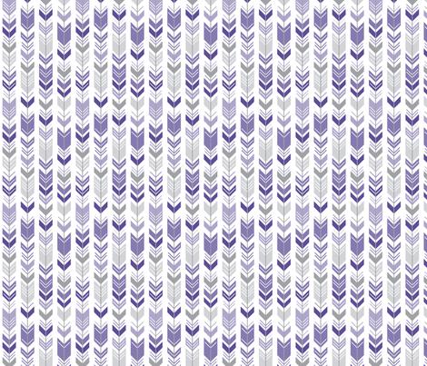 herringbone arrows purple fabric by misstiina on Spoonflower - custom fabric