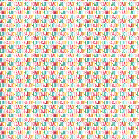 love joy alternating xxsm fabric by misstiina on Spoonflower - custom fabric