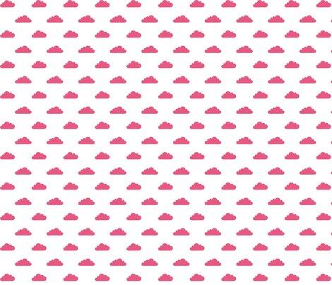 Modbaby_tinycloudshp_pantone_hot_pink_on_white_shop_preview