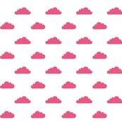 Modbaby_tinycloudshp_pantone_hot_pink_on_white_shop_thumb