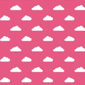 Modbaby_tinycloudshp_white_on_pantone_hot_pink_shop_thumb