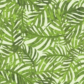Rainforest Leaves - Green