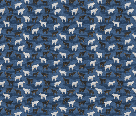 Mountain Goats fabric by elramsay on Spoonflower - custom fabric
