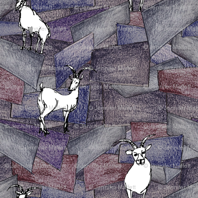Rock Blocks and Mountain Goats