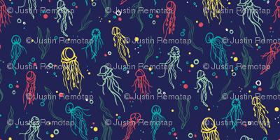 jellyfish & seaweed