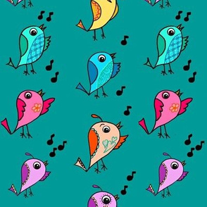 Colorful Canary Choir