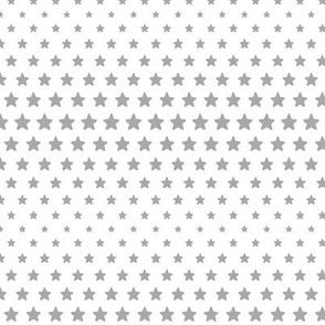 halftone stars grey