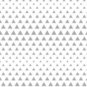 halftone triangles grey